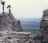 Picture of Mount Megiddo, Israel